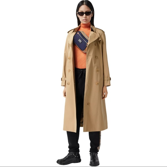 Burberry The Long Kensington Trench Coat w/ Lining